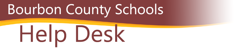 Bourbon County Schools Help Desk